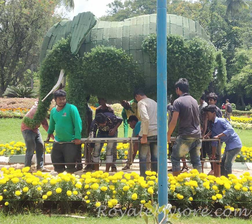 The Floral Elephant, Kuppanna Park