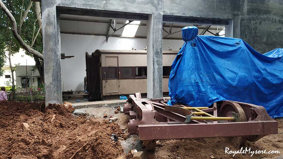Mysore Railway Museum under renovation
