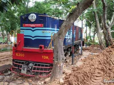 Train Engine - Railway Museum Mysore