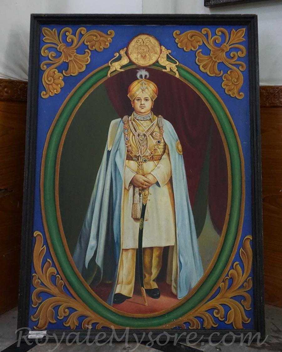 Mysore Maharaja Painting